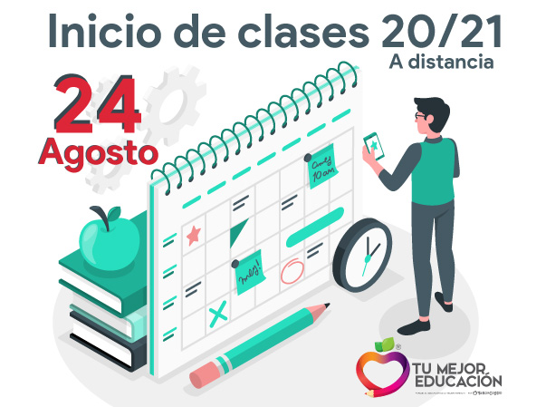Inicio de clases 20/21